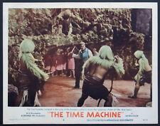 THE TIME MACHINE ROD TAYLOR BATTLES MORLOCKS SCI-FI 1960 LOBBY CARD #2