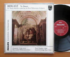 Philips GBL 5637 Berlioz Te Deum Sir Thomas Beecham Royal Philharmonic EXCELLENT