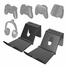 PS4 Controller Headphone 2 Pack Wall Mount Game Controller Stand Holder