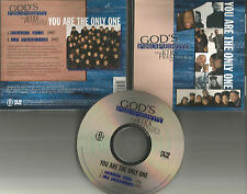 GOD'S PROPERTY KIRK FRANKLIN Produced You Are Only One RARE HEART MIX CD single