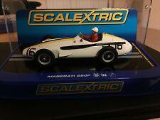 Scalextric USA BOXED VERSION C3403 Maserati 250F Jo Bonnier #16, Pescara GP 1957