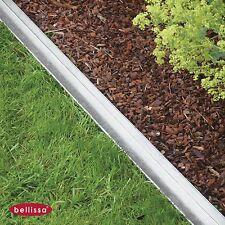 10 Stk. Bellissa Rasenkante Metall comfort L 118 x H 9 cm Beeteinfassung 99690