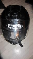 Motorradhelm von HJC in Schwarz Grösse S Original Visier Beschädigt