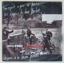Raymond Depardon 45 tours Graziella De Michele 1989