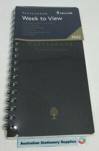 2022 Debden Organiser Refill 16.2 x 8.2cm Slimline Dayplanner Weekly SL4700