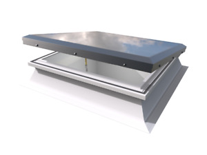 Mardome Flat Roof Window - Manual Opening Rooflight Skylight