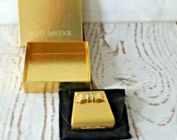 Estee Lauder Lucidity Powder Compact Minaudiere Bow Crystals Purse/Bag NIB
