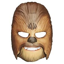 Star Wars The Force Awakens Chewbacca Talking Electronic Adjustable Mask New MIB