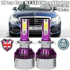 LED H7 Car Headlight 440W Hi Low Beam Bulbs Kit 6000K for Mercedes-Benz	C-Class
