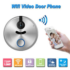 Wireless IP WIFI Talkable Doorbell Intercom System Door Phone Monitor Security