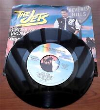 The Jets   Cross My Broken Heart   1987  R&B  Vinyl 45 RPM   Picture Sleeve  VG+