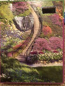 Springbok Garden Stairway 500 Piece Jigsaw Puzzle