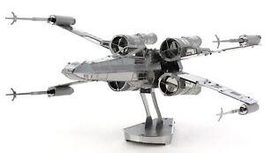 Metal Earth STAR WARS X-Wing Fighter MMS257 3D Figur Metallbausatz