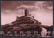 VICENZA MONTECCHIO MAGGIORE 04 CASTELLO di GIULIETTA Cartolina FOTOGRAFICA