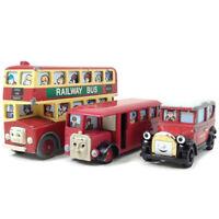 Thomas and Friends Bulgy Bertie Bus Caroline Die-cast BANDAI Collection Japan