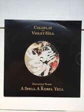 """Coldplay 7"""" Vinyl Violet Hill / A Spell A Reel Yell Rare, Sealed!!!!"""