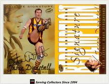 1999 Select AFL Limited Edition Tribute Signature Card TS1 Jason Dunstall -Rare