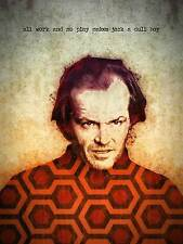 The Shining Jack Nicholson Horror Movie Art Poster