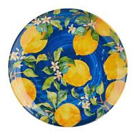 Lemon Blue Medallion Lemons Melamine Salad Plates Set of 4 by Pier 1 Imports