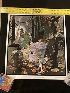 1975 Bad Doins in Knuckledowns Lonesome by Berni Wrightson ~ Horror Poster Rare