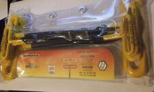 46538 BONDHUS 22.9cm Cojín Nudo mango 't '10 Piezas Imperial Hex Llave Allen