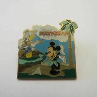 Disney Polynesian Resort Mickey and Donald Pin