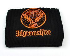 Jägermeister USA Armband Schweißband schwarz weiß orange - wristband