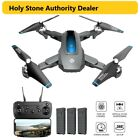 Holy Stone HS240 2K HD Camera Drone Foldable Quadcopter 3 Battery Selfie Tapfly