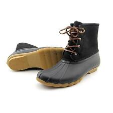 Mix No 6 Galirasen Women US 11 Black Rain Boot Pre Owned  1911