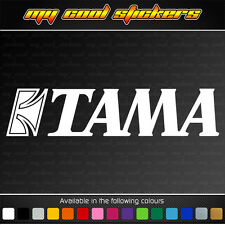 Tama Drums Sticker Decal for 4x4,car,ute,window,instrument - 2 sizes available