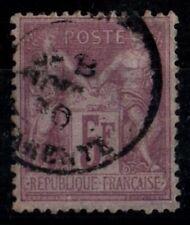 SAGE 95a lilas-rose, Oblitéré = Cote 100 € / Lot Classique France
