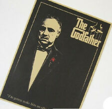 The Godfather Classics Old Movie Poster Vintage Kraft Paper Decor Poster A19