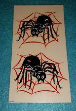 Vtg Original Impko Black Spider Red Web Decal NOS VHTF HOT ROD