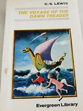The Voyage of the  Dawn Treader by C. S. Lewis 1968 Collins hardcover jackey