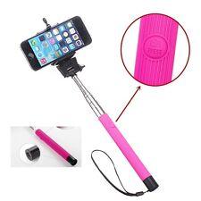 Rose Mono-pied Bâton De Selfie Télescopique & Encastré Bluetooth Sans Fil