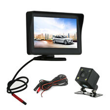 "Willkey HD Car Reversing Camera 170°+4.3"" LCD Monitor Rear View Kit Night Vision"