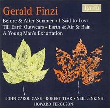 Finzi: Before & After Summer; I said to Love; Till Earth Outwears; Earth & Air &