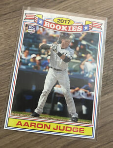 Aceo RP, Aaron Judge, Rookies Commerative Set Baseball Card
