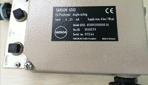 Samson 4763 positioner