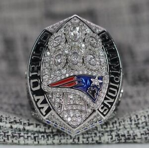 SPECIAL EDITION New England Patriots Super Bowl Ring (2019) In 925 Solid Silver