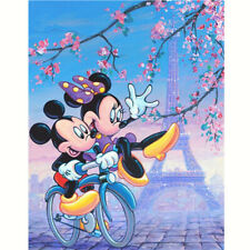 5D Diamond Painting Embroidery Cross Craft Stitch Arts Kit Mural Blendent Disney