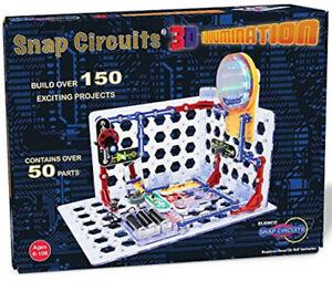 Elenco Snap Circuits 3D Illumination Electronics Brand New Sealed Experiment Kit
