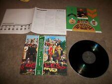 THE BEATLES Sgt. Pepper's Lonely Hearts Club Ban JAPAN TOJP-60138 OBI - EX VINYL