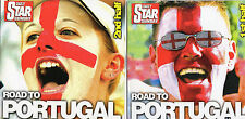 VARIOUS ARTISTS - ROAD TO PORTUGAL - DAILY STAR DOUBLE ALBUM  2 CD'S - UNP.