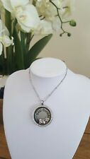 Stunning best friend/dog lover pendant necklace with floating charms. New