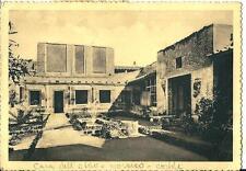 cm 258 1952 ERCOLANO (Napoli) Giardino Casa dell'atrio- VG - Ed.Berretta Terni