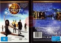 SERENITY Firefly Movie Nathan Fillion Adam Baldwin NEW (Region 4 Australia)
