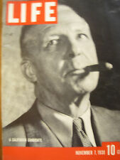 LIFE Nov 7 1938 1938 elections, Japan rules China, Jazz in '30s, US elderly 1938