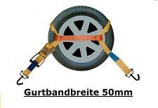 4x Auto Spanngurte Spanngurt Gurt Gurte Radspanngurt Radsicherung Fitzel