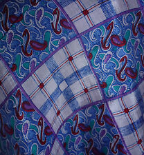 Damen Tuch Schal Viskose rosa lila rot blau grün auch für Trachten 110x110 - NEU